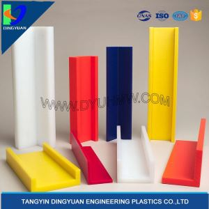 Ultra High Molecular Weight Polyethylene Plastic UHMW Angle Stock
